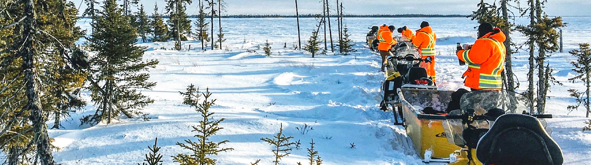 Off-Road Vehicle Training – Snowmobile